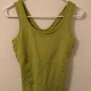 Soybu yoga tank with built in bra